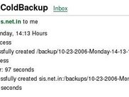 Email from zimbraColdBackup Ver. 0.02Beta