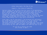 The Sign of Four on a Windows XP boot screen