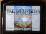 """Final Fantasy Tactics Advance"" GBA game via igpSP"