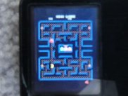 """Pacman"" arcade game via iPodMAME"