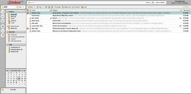Zimbra Collaboration Suite download   SourceForge net