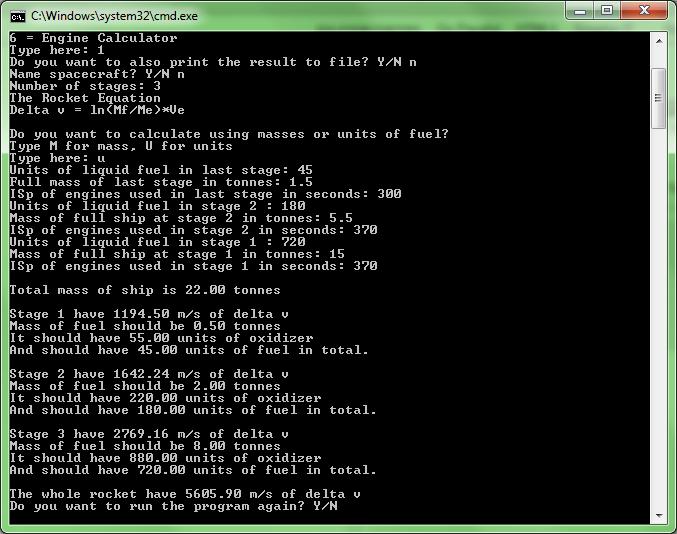 Zord's KSP Multi-calculator download | SourceForge net