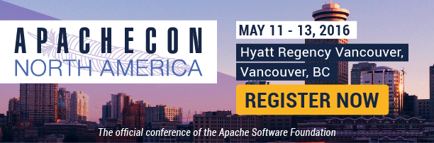 Find out more about ApacheCon NA 2016