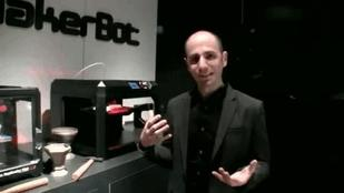 VP Anthony Moschella Shows Off Makerbot's Latest Printers and Materials (Video)